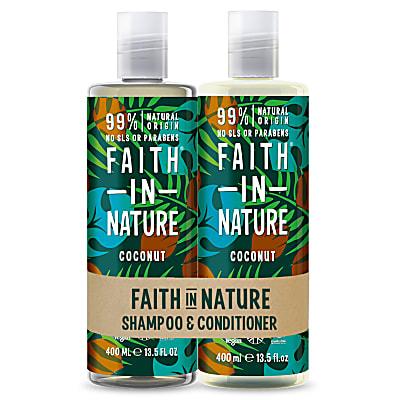 Coconut Doppelpack Shampoo & Conditioner
