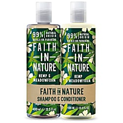 Hemp & Meadowfoam Doppelpack Shampoo & Conditioner