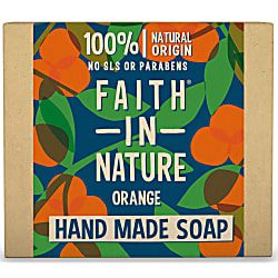 Hand Made Orange Soap - Orange Seifenstück