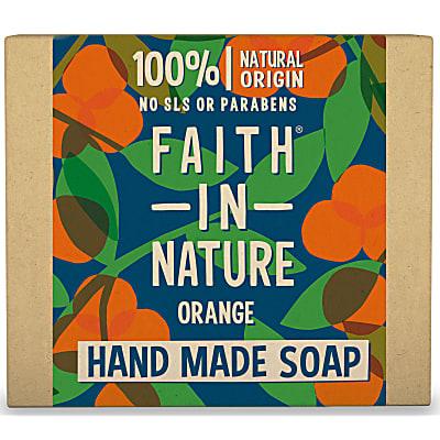 Hand Made Orange Soap - Orange Seifenstück