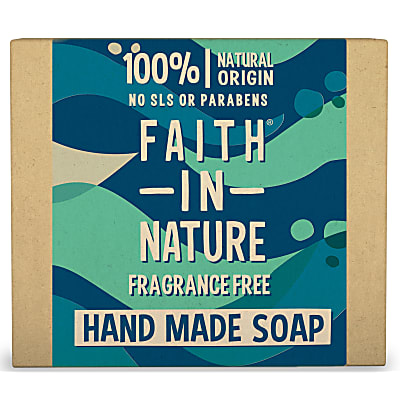 Hand Made Fragrance Free Soap - Seifenstück